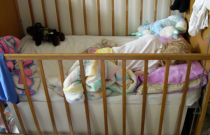 Bedding for Baby Nursery and Inexpensive Church Sale Finds: Frugal Friday