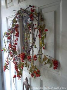 Natural Autumn Door Wreath
