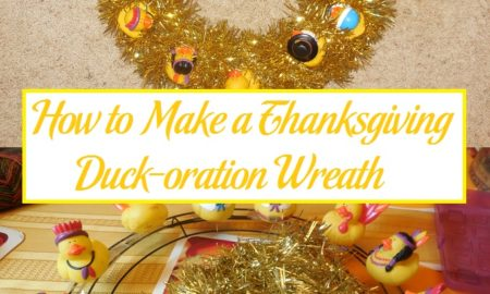 How to Make a Thanksgiving Duck-oration Wreath