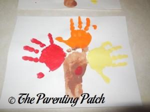 Adding a Yellow Handprint