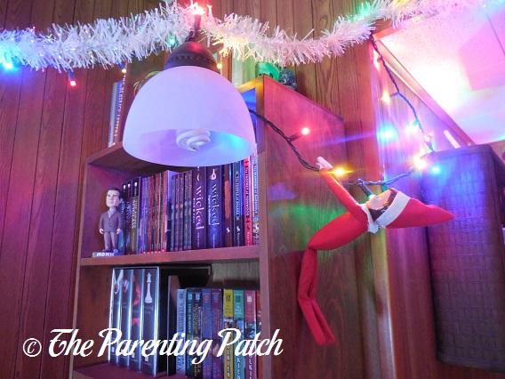 The Elf on the Christmas Lights