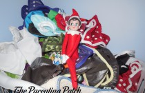 The Elf on the Cloth Diapers: The Elf on the Shelf Day 8