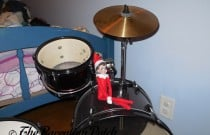 The Elf on the Drum Set: The Elf on the Shelf Day 10