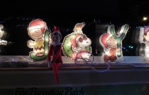 The Elf and the Peanuts Gang: The Elf on the Shelf Day 13