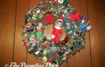The Elf on the Musical Wreath: The Elf on the Shelf Day 14