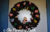 The Duck and the Christmas Duck-oration Wreath: The Rubber Ducky Project Week 51