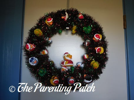 The Duck and the Christmas Duck-oration Wreath