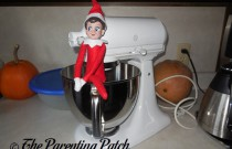 The Elf in the Stand Mixer: The Elf on the Shelf Day 23