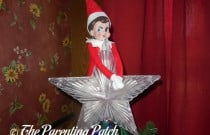 The Elf on the Christmas Star: The Elf on the Shelf Day 24