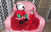 The Elf and the Santa Snoopy: The Elf on the Shelf Day 25