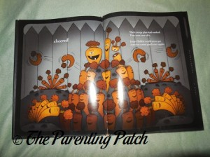 Inside Pages of Creepy Carrots! 2