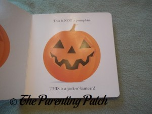 Inside Pages of This Is Not a Pumpkin