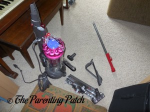 Assembling the Dyson DC41 Animal Complete Vacuum 2
