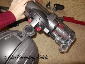 Assembling the Dyson DC41 Animal Complete Vacuum 6