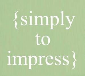Simply to Impress