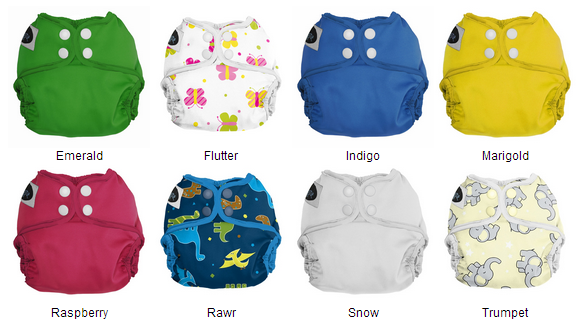 Imagine One Size All-In-Two Cloth Diapers