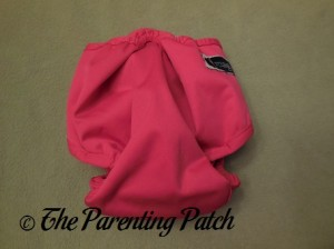 Back of the Raspberry Imagine One Size All-In-Two Cloth Diaper