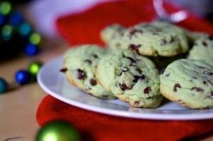 Pistachio-Cranberry Christmas Cookies
