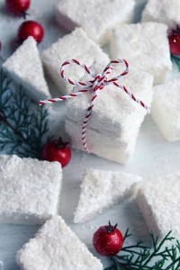 Icy Winter Marshmallows