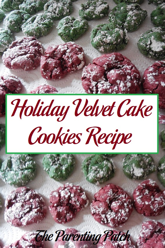 Holiday Velvet Cake Cookies Recipe
