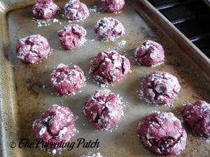 Baked Red Velvet Cookies