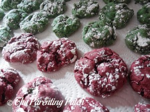 Holiday Velvet Cake Cookies