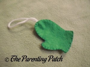 Mitten Felt Toddler Christmas Tree Ornament