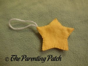 Star Felt Toddler Christmas Tree Ornament