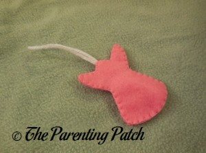 Angel Felt Toddler Christmas Tree Ornament