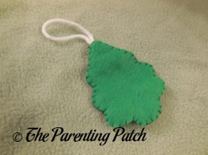Christmas Tree Felt Toddler Christmas Tree Ornament