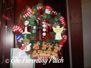 Jolly Christmas Wreath