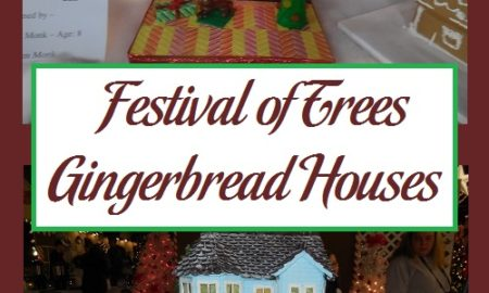 Festival of Trees Gingerbread Houses