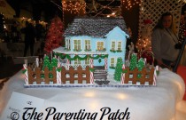 Festival of Trees Gingerbread Houses (Day 19 of 25 Days of Christmas)