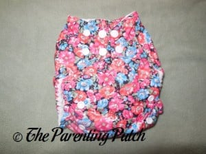 Front of The Little Bee Co. Pocket Diaper