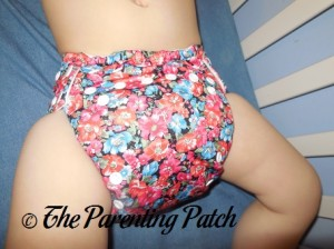 Front View of The Little Bee Co. Pocket Diaper