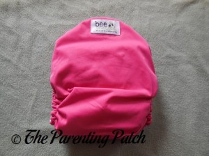 Back of The Little Bee Co. Pocket Diaper