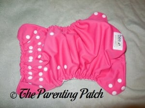 Outside of The Little Bee Co. Pocket Diaper