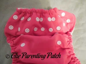 Snaps on The Little Bee Co. Pocket Diaper