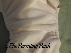 Leg Gussets of The Little Bee Co. Pocket Diaper