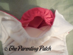 Pocket Opening of The Little Bee Co. Pocket Diaper