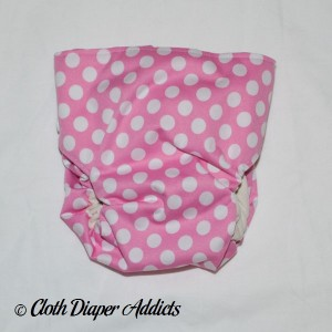 Pink Dot Bottombumpers Cloth Diaper 1