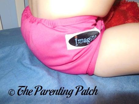 Raspberry Imagine Cloth Diaper 6
