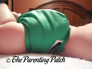 Side of the Imagine Diaper Cover on Infant 2