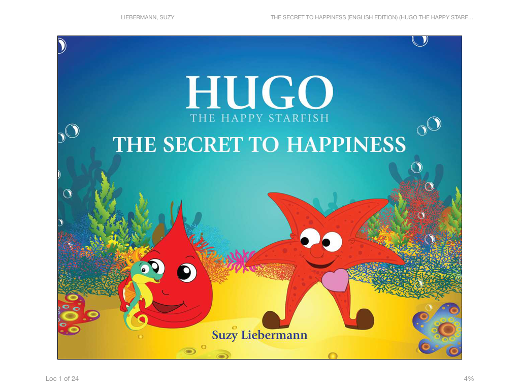 The Secret to Happiness (Hugo the Happy Starfish) Screenshot 1