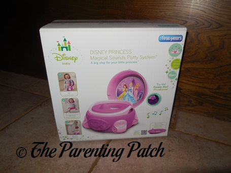 Disney Princess Magical Sparkle Potty System By The First Years Box