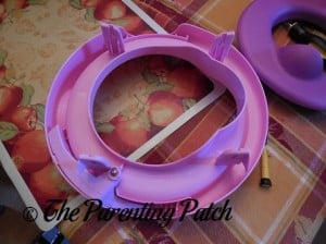 Assembling the Disney Princess Magical Sparkle Potty System by The First Years