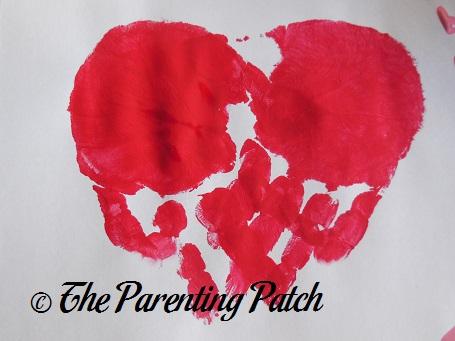 Handprint Footprint Valentine S Day Craft Parenting Patch