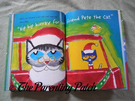 inside pages of pete the cat saves christmas - Pete The Cat Saves Christmas