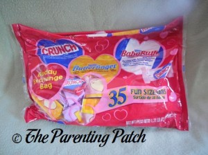 Valentine's Day Crunch, Butterfinger, and BabyRuth Package