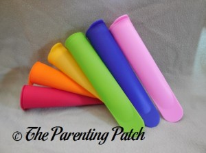 Six Mighty Pops by Sunsella Silicone Ice Pop Molds